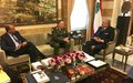 Major General Beary meets with Minister Machnouk