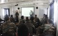 Joint training for UNIFIL and LAF troops on 'Military Decision Making Process'