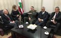 UNIFIL head meets with Lebanese judiciary officials